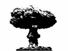 Mushroom Cloud Stencil...