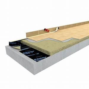 Carrelage Isolant Thermique : sous couche assour chape les mat riaux ~ Edinachiropracticcenter.com Idées de Décoration
