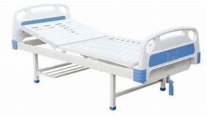 Adjustable Medical Furniture 1 Crank Manual Hospital Bed