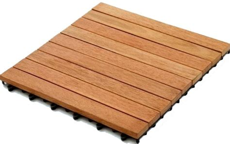 kontiki interlocking wood deck tiles kontiki interlocking wood deck tiles real wood xl series