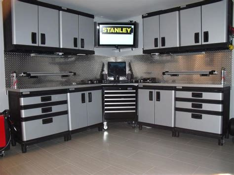 metal garage storage cabinets used metal storage cabinets for garage home furniture design