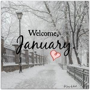 January Welcome Quotes