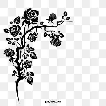 flower corner png images vector  psd files