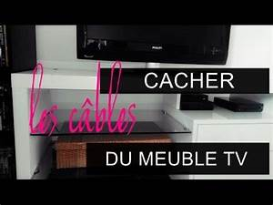 DIY: Cacher les câbles du meuble TV - YouTube