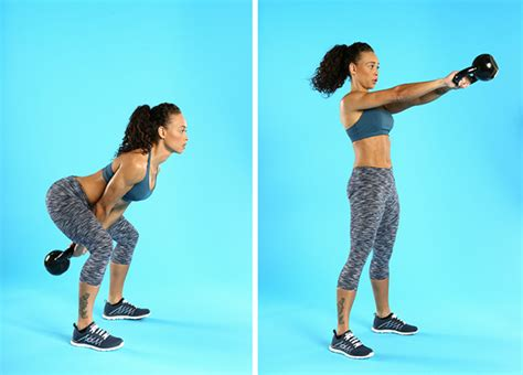 kettlebell swing exercises low impact knee