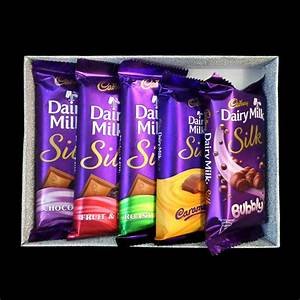 Buy Cadbury Dairy Milk Silk Gift Pack Mini With Archies Glass Photo Frame Online At Best Price