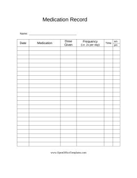 doctors can provide this printable record to