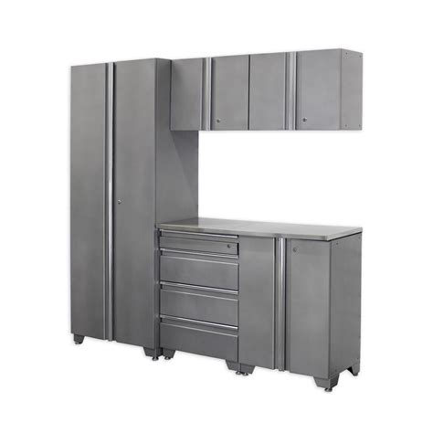 husky 33 in h x 28 in w x 18 in d steel 4 drawer garage