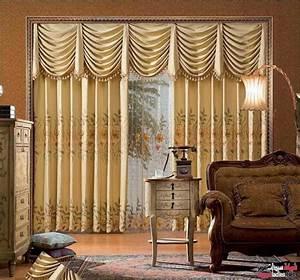 Living room design ideas 10 top luxury drapes curtain for Curtain designs for living room