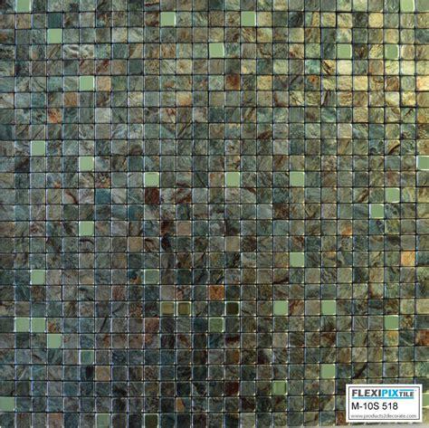 Stick Tiles Kitchen by Flexipixtile Aluminum Peel Stick Mosaic Tile Kitchen