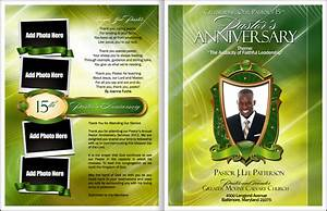 best photos of church anniversary bulletin templates With free pastor anniversary program templates