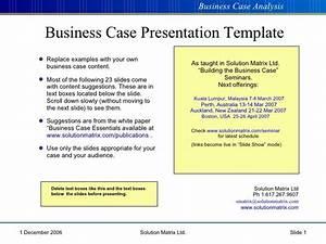 Business Case Presentation