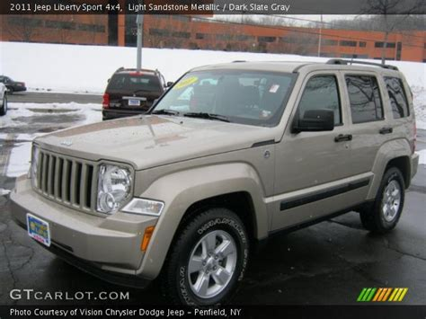 desert tan jeep liberty light sandstone metallic 2011 jeep liberty sport 4x4