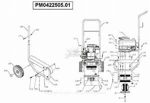 Powermate Formerly Coleman Pm0422505 01 Parts Diagram For