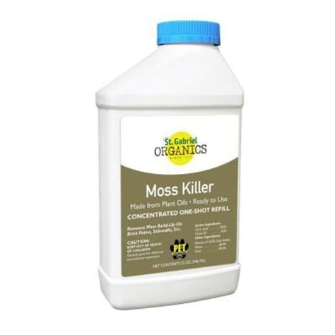 32 oz concentrate organic moss killer concentrate tank