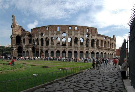 The Flavian Amphitheatre (Coliseum). Rome, Flavian ...