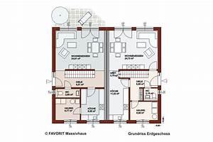 Doppelhaus Grundriss Beispiele : finesse 104 doppelhaus mit doppeldach bauunternehmer schob ~ Lizthompson.info Haus und Dekorationen