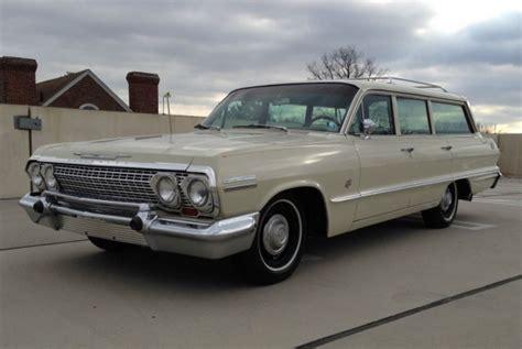 Noreserve 1963 Chevrolet Impala L33 409 Wagon  Bring A