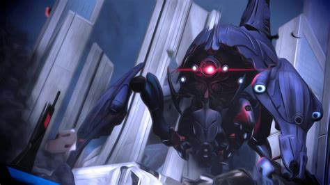 full hd wallpaper mass effect reaper giant robot desktop
