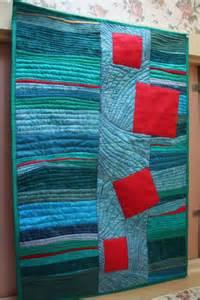 Abstract Modern Art Quilt