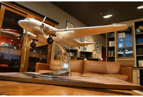 douglas dakota dc  aluminum airplane model