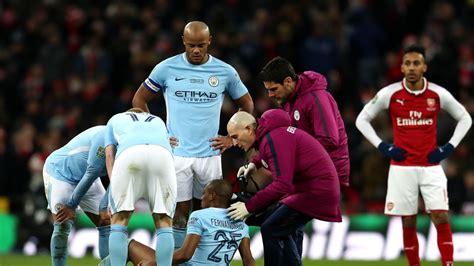 Fernandinho suffers injury in Manchester City's Carabao ...