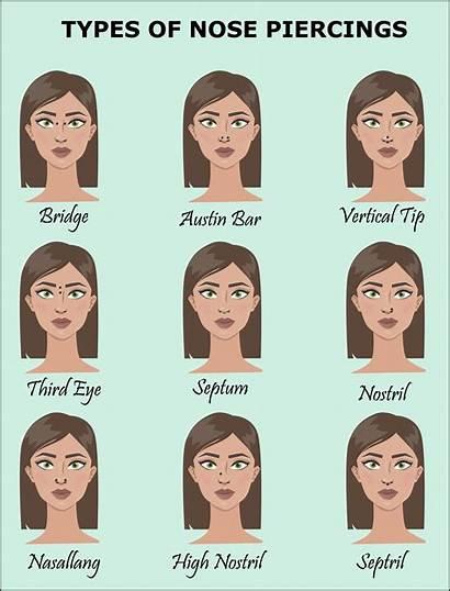 Nose Piercing Ring Types Piercings Choose Rings