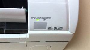 Mitsubishi Mr  Slim Indoor Unit In Operation