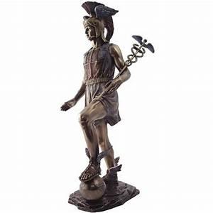 Hermes, Messenger of the Gods Bronze Statue