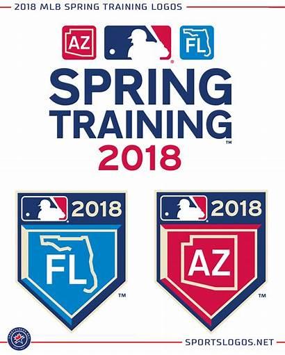 Training Spring Logos Mlb Teams Team Sportslogos