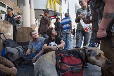 las homeless   homeless youth