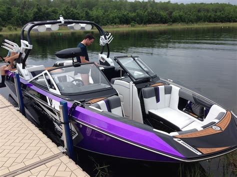 Purple Bass Boat by Just Picked Up The 2014 Planetnautique G23