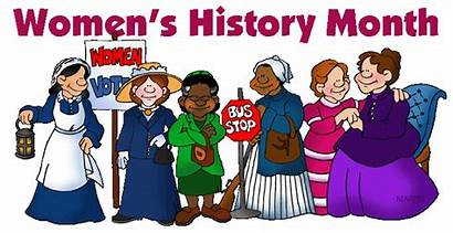History Month March Womens Lesson Clipart National