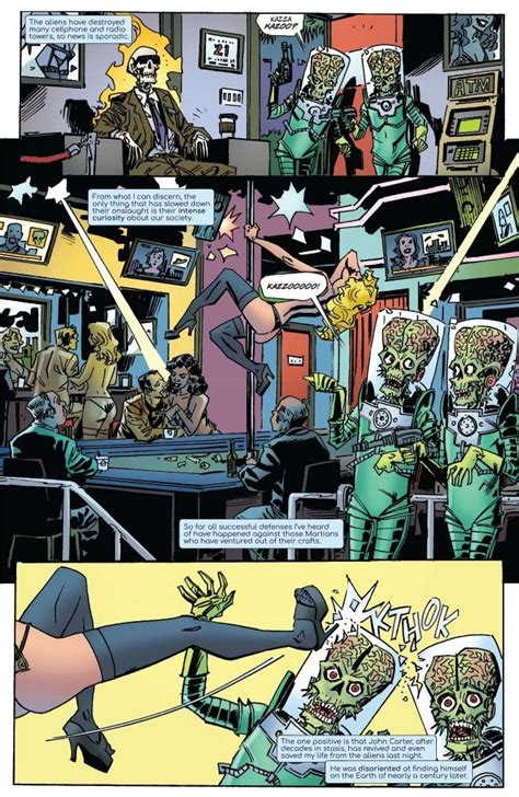 EXCLUSIVE PREVIEW: WARLORD OF MARS ATTACKS #3 makes John ...