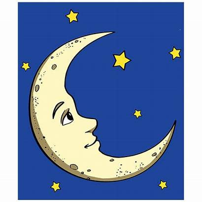 Moon Crescent Draw Easy Drawing Drawings Cresent