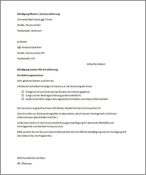 Kündigung Eines Mietvertrages Durch Den Vermieter by K 252 Ndigung Mietvertrag Vorlage Kostenlos Vermieter