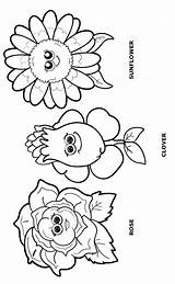Coloring Daisy Flower Scout Garden Welcome Petals Petal Scouts Gerri sketch template