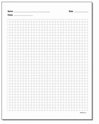 Graph Paper Printable Block Worksheets Inch Grid