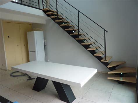 escalier metal et bois photos de conception de maison agaroth