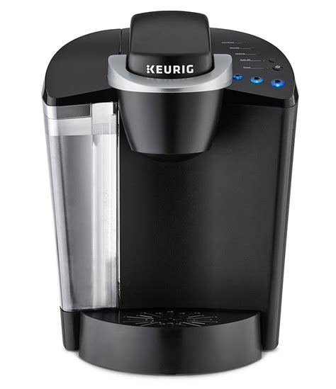 Pop in a pod, push a button, and a minute or two later, you've got a fresh cup of coffee, brewed right into your mug of choice. Keurig K55 Single-Serve Coffee Maker with Variety Pack | Dillards