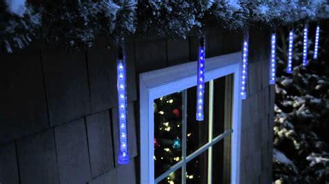 philips led icicle lights philips led cascading icicle light set 4156