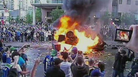 boston bruins win stanley cup vancouver fans riot cnncom