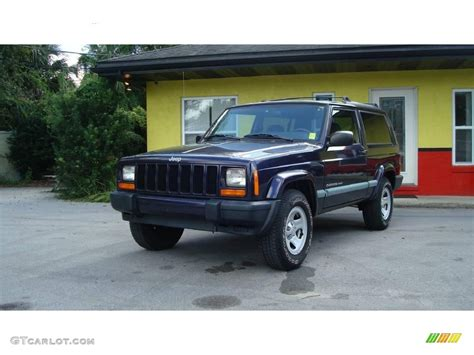 patriot jeep blue 1999 patriot blue pearl jeep cherokee sport 18573248