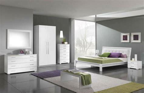 Italian White Modern Bedroom Set(queen)