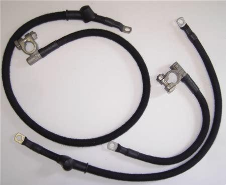57 Jaguar Wiring Harnes by 1954 57 Jaguar Xk140 Battery Cable Set