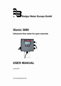 Badger Flow Meter Wiring Diagram