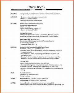 Resumes For Students With No Experience College Student Resume No Experience Cover Letter Job