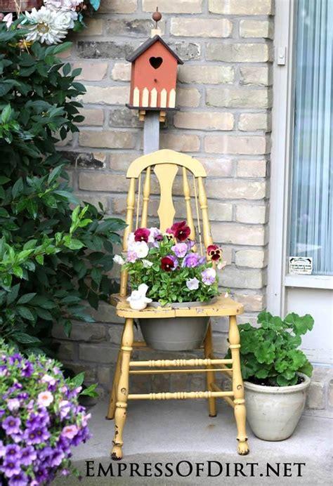 gallery  garden art chair ideas empress  dirt