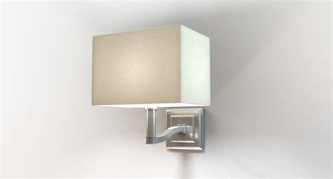 Designer Bedside Wall Sconce 3d Model
