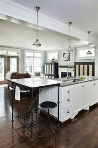 french kitchen island transitional kitchen With best brand of paint for kitchen cabinets with restoration hardware wall art